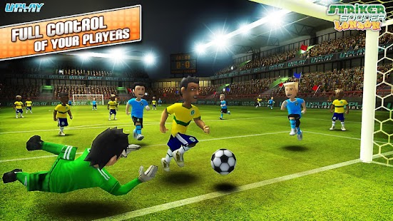 Striker Soccer London- screenshot thumbnail