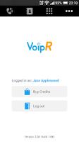 Screenshot of VoipR - Cheap calls