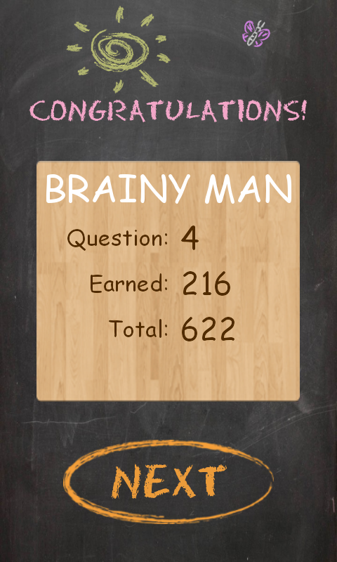Brainy Man - Trivia Hangman- screenshot