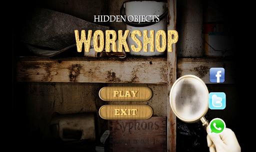 Hidden Objects - Workshop Game