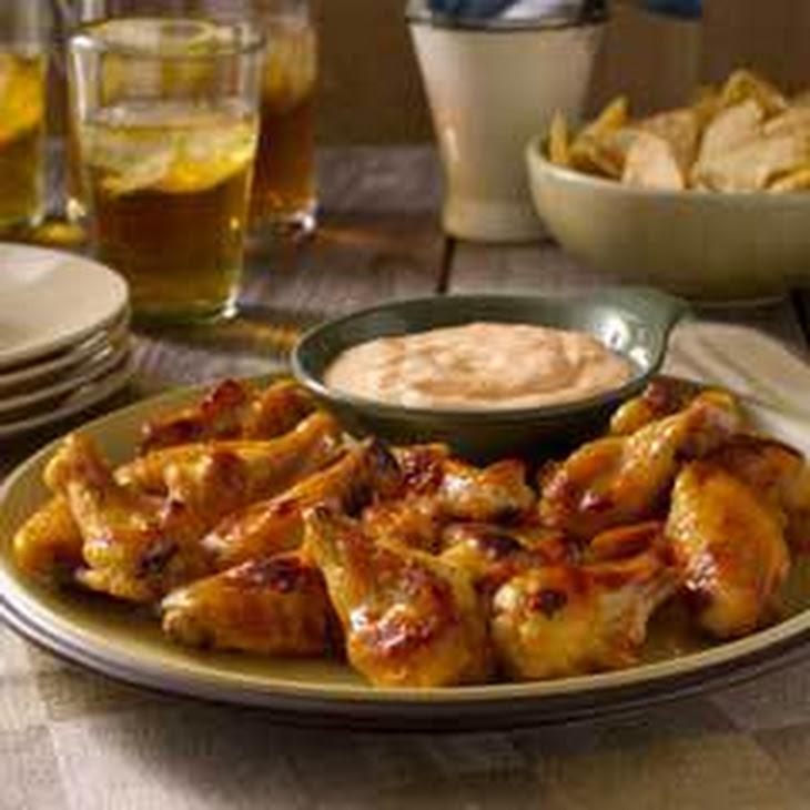 Hot & Sweet Chicken Wings Recipe