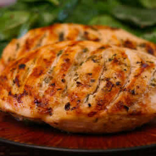 Grilled Chicken Recipe with Lemon, Capers, and Oregano.