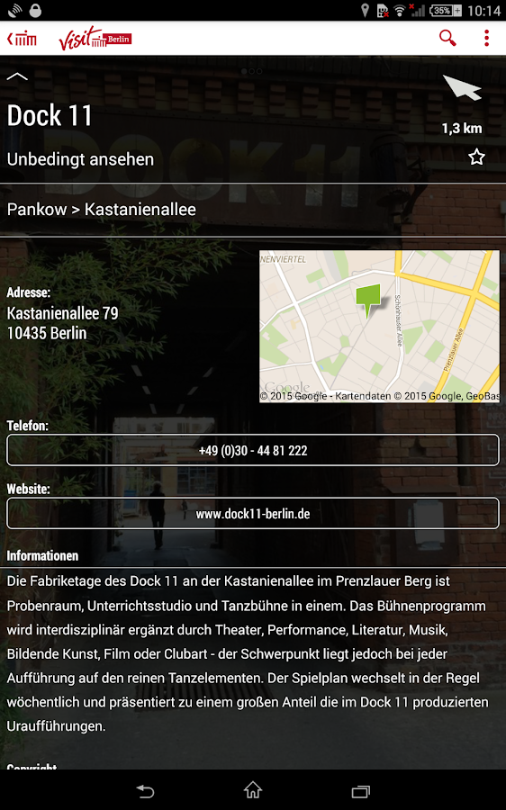 Going Local Berlin – Screenshot