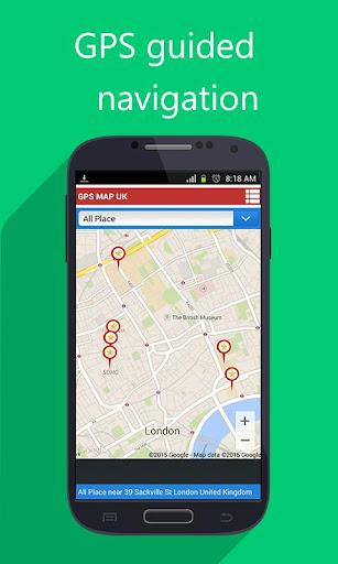 最好的GPS導航搜索的智能手機...