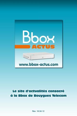 Bbox Actus- screenshot
