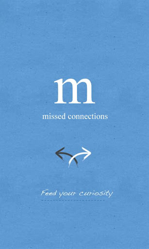 Missed Connections App