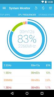System Monitor Lite - screenshot thumbnail