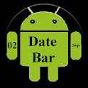 DateBar - date in status bar icon