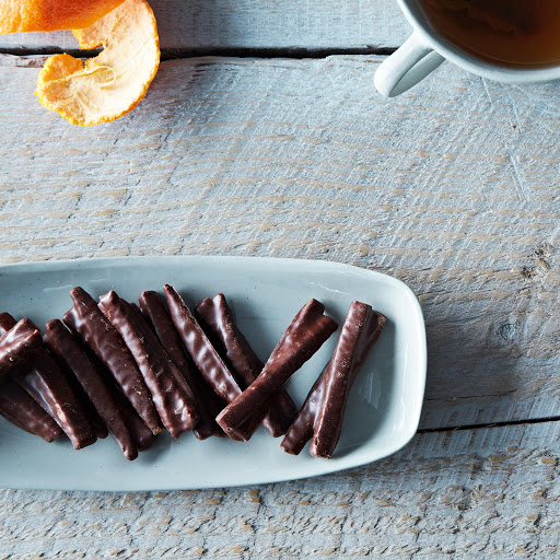 Chocolate-Covered Candied Orange Peel