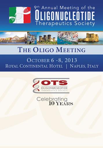 The Oligo Meeting 2013