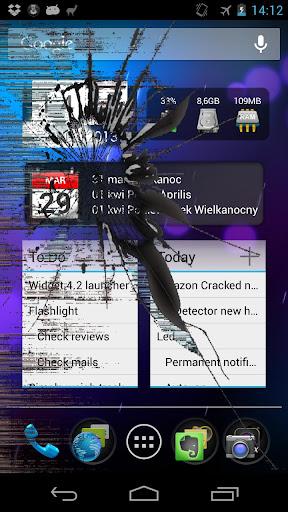 無料娱乐Appのひびの入った画面のEX|記事Game