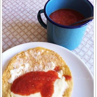 Tomato Sauce for Quesadillas.