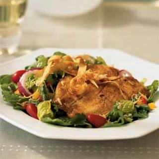 Cornmeal-Crusted Tilapia Salad.