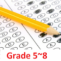 Mathematics Tests Grade 5-8 icon