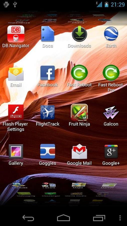 Fast Reboot- screenshot