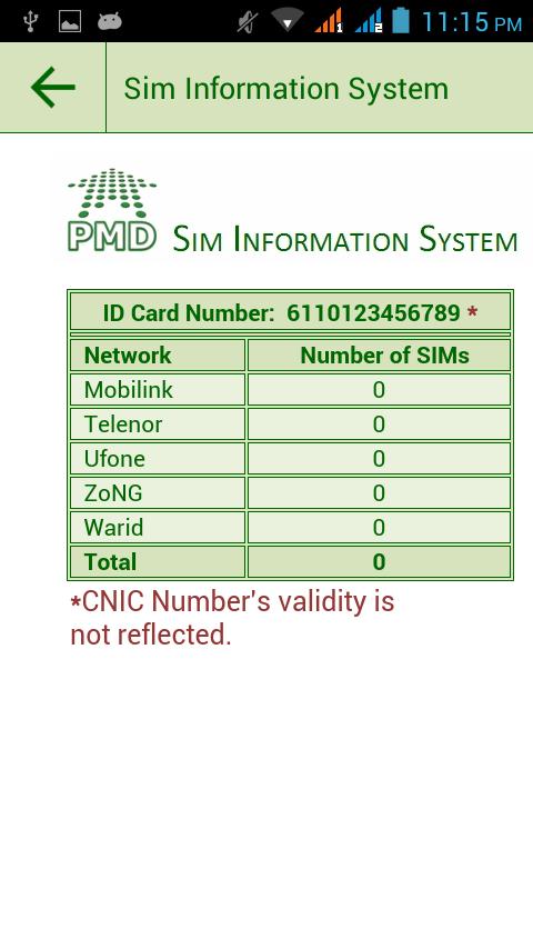 Check NADRA CNIC Verification and ID Status Tracking ...