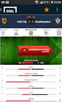 Screenshot of Goal Live Scores