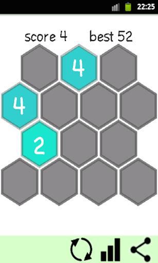 퍼즐 2048 HEX