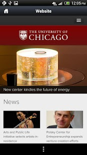 UChicago - screenshot thumbnail