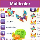 GO SMS Multicolor