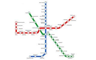 Screenshot of Kyiv metro scheme