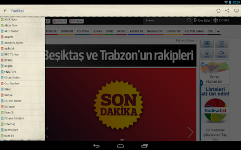 Gazeteler - screenshot thumbnail