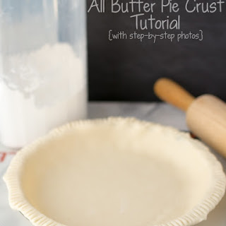My Favorite All Butter Pie Crust