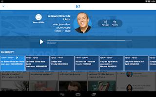 Screenshot of Europe 1