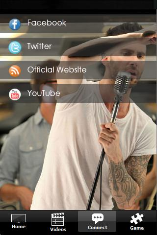 Maroon 5 Fan App - screenshot