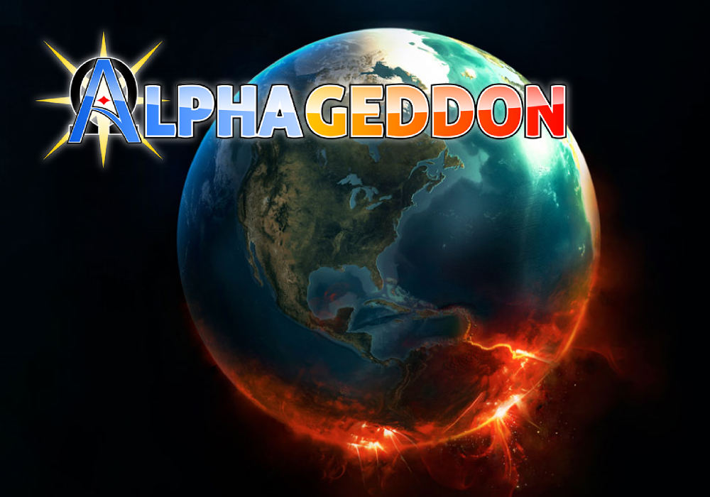 Alphageddon: Destroy Them All- screenshot