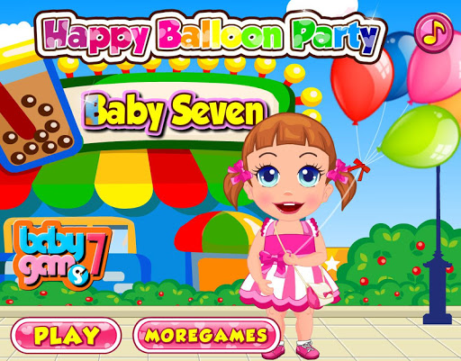Baby Happy Balloon Party