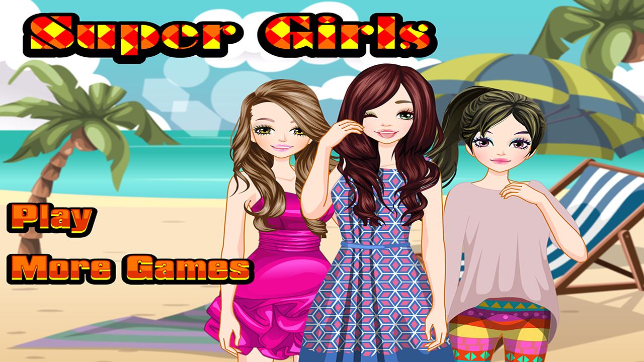 Dress up for girl - Super Girls Dress Up Games Screenshot