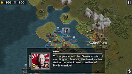 Glory of Generals :Pacific HD v1.2.2 Apk
