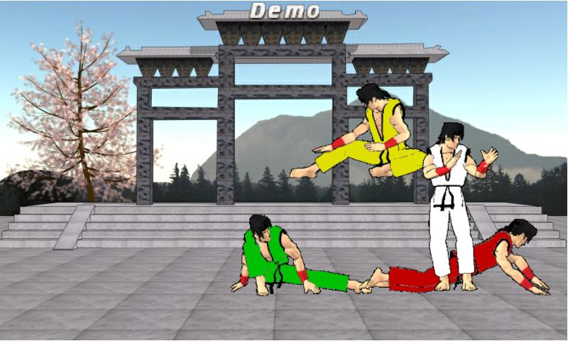 Final Karate Demo - screenshot