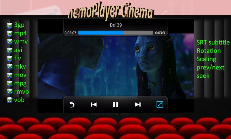 nemoPlayer+ - screenshot