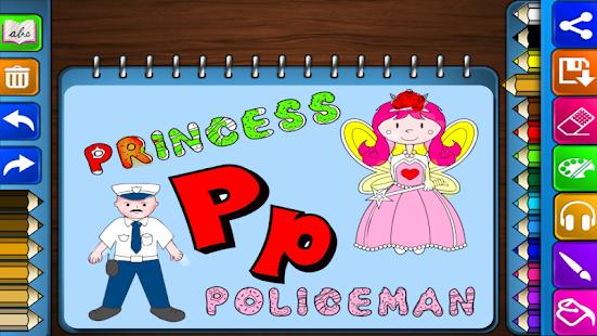 Download Coloring Games : Alphabet APK On PC