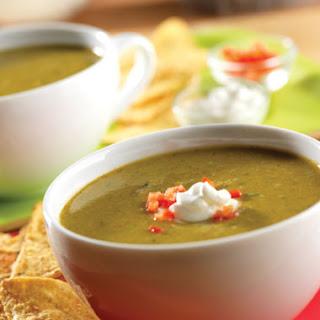 Festive Guacamole Soup