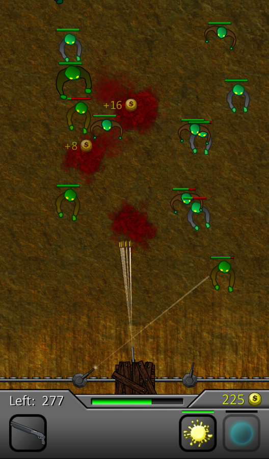 Zombie Attack: Apocalypse- screenshot