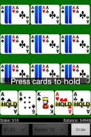 Screenshot of Joker Wild Video Poker