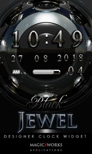 Jewel Digital Clock Widget