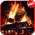 Fireplace Video Live Wallpaper icon