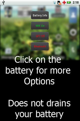 vizBattery Widget - screenshot