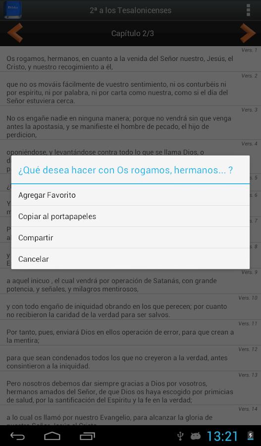 Biblia en Español Reina Valera - screenshot