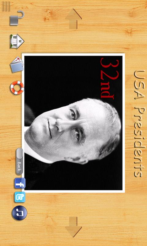 USA Presidents Flashcards - screenshot