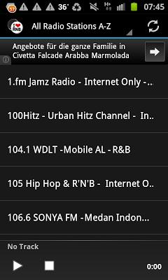R&B Urban Music Radio Stations - screenshot