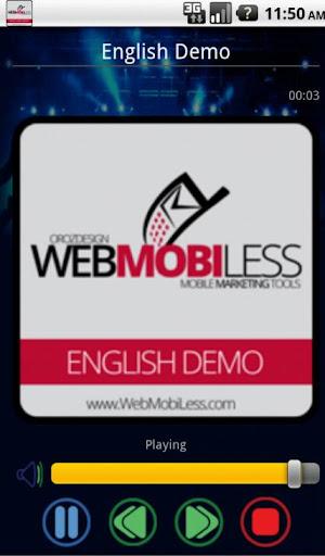 Radio Demo Application