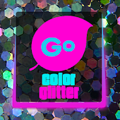 Color Glitter Go Keyboard