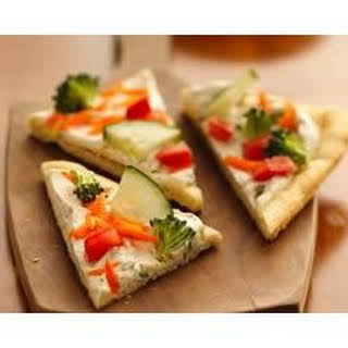 Easy Veggie Pizza.