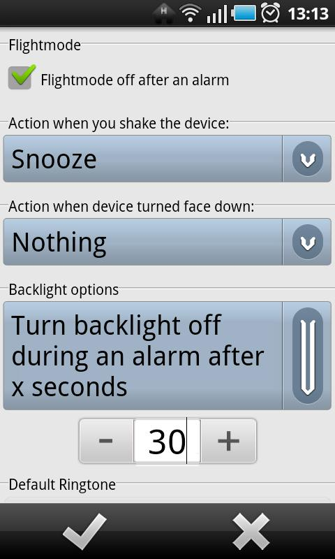 G-Alarm - screenshot