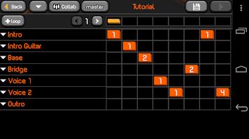 Screenshot of PocketBand Pro - Social DAW